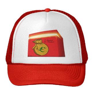 Azotó el gorra del camionero del banquero