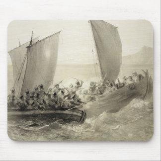 Azov Cossacks Boarding a Turkish Corsair full of C Mouse Pad