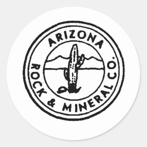Azrock Round Sticker