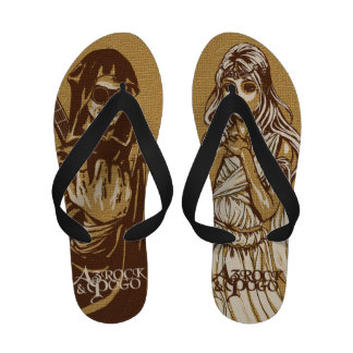 Azrock y Pogo - sandalias flips-flopes