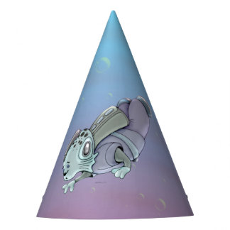 AZTAX ALIEN MONSTER CARTOON Party Hat