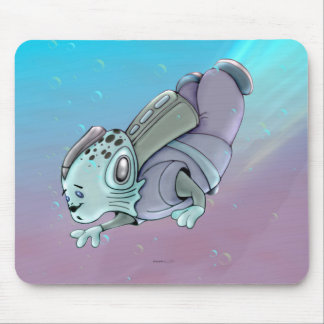 AZTAX CUTE ALIEN MONSTER CARTOON MOUSE PAD