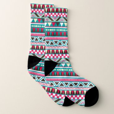 Aztec Themed Aztec abstract pattern socks