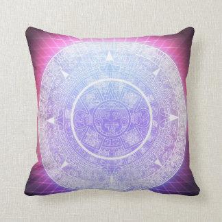 Aztec Aesthetics Throw Pillow