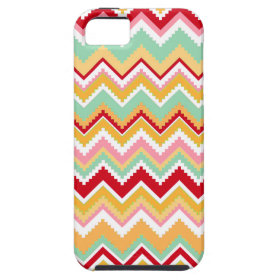 Aztec Andes Tribal Mountains Chevron Fiesta Zigag iPhone 5 Case
