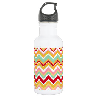 Aztec Andes Tribal Mountains Chevron Fiesta Zigag Water Bottle