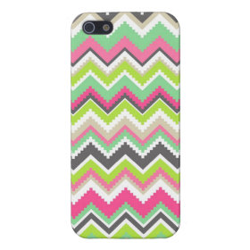 Aztec Andes Tribal Mountains Chevron Zig Zags Cases For iPhone 5