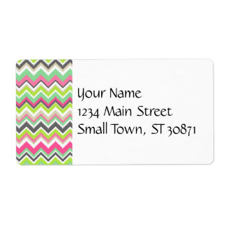 Aztec Andes Tribal Mountains Chevron Zig Zags Labels