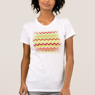Aztec Andes Tribal Mountains Chevron Zig Zags T-Shirt