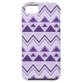 Aztec Andes Tribal Mountains Triangles Chevrons iPhone 5 Cover