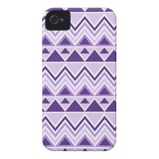 Aztec Andes Tribal Mountains Triangles Chevrons Case-Mate iPhone 4 Case