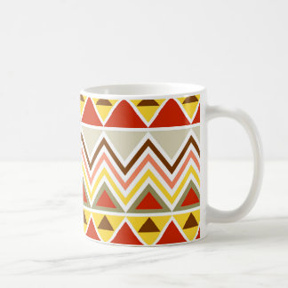 Aztec Andes Tribal Mountains Triangles Chevrons Coffee Mug