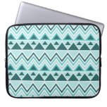 Aztec Andes Tribal Mountains Triangles Chevrons Computer Sleeve