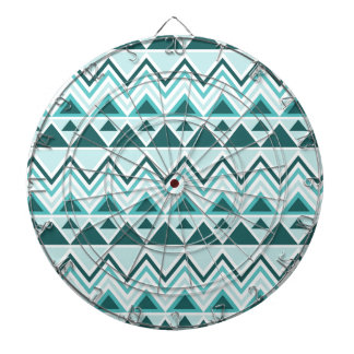 Aztec Andes Tribal Mountains Triangles Chevrons Dart Boards