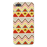Aztec Andes Tribal Mountains Triangles Chevrons iPhone 5 Cases