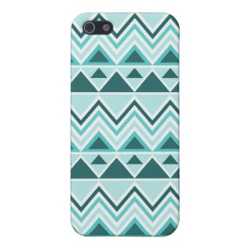 Aztec Andes Tribal Mountains Triangles Chevrons iPhone 5 Case