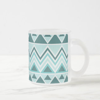 Aztec Andes Tribal Mountains Triangles Chevrons Coffee Mugs