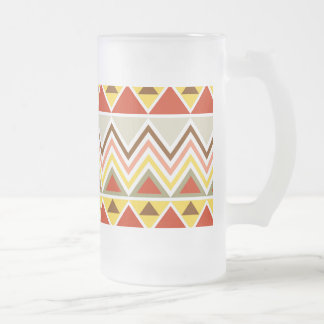 Aztec Andes Tribal Mountains Triangles Chevrons Mug