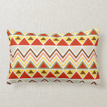 Aztec Andes Tribal Mountains Triangles Chevrons Pillow