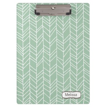 Aztec Themed Aztec Arrow Pattern Modern Personalized Clip board