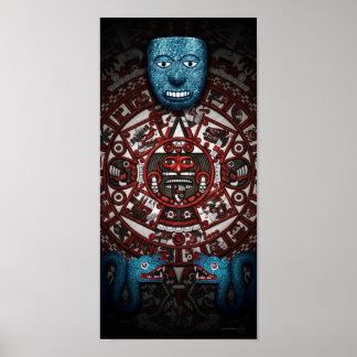 Aztec Art Poster