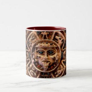 AZTEC ART Two-Tone COFFEE MUG