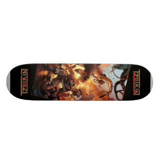 Aztec Attack Skate2 Skateboard Deck