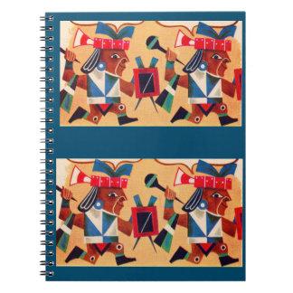 Aztec Aztecs Spiral Notebook