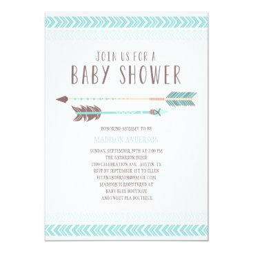 Aztec Themed Aztec | Baby Shower Invitation