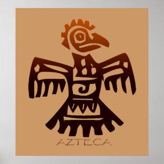 AZTEC Bird Spirit Print
