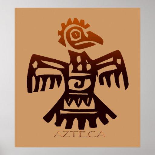 AZTEC ~ Bird Spirit Poster