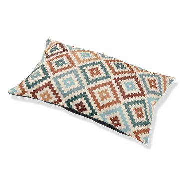 Aztec Themed Aztec Block Symbol Big Ptn Teals Crm Terracottas Pet Bed