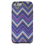 Aztec Blue Green Purple  Chevron Girly Pattern iPhone 6 Case