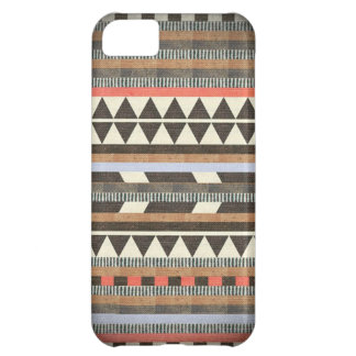 Aztec Brown Pattern Case For iPhone 5C
