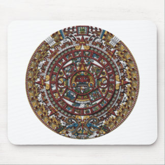 Aztec Calendar Mouse Pad