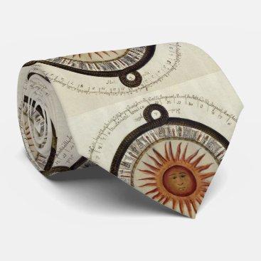 Aztec Themed Aztec Calendar Neck Tie