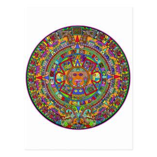 Aztec Calendar Post Cards