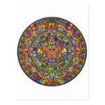 Aztec Calendar Postcard