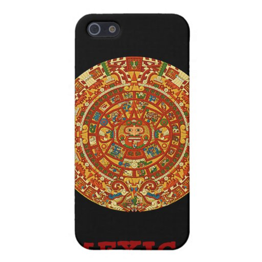 Aztec Calendar Stone or Sun Stone of Mexico. Cover For iPhone 5