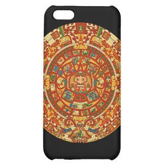 Aztec Calendar Stone or Sun Stone of Mexico. iPhone 5C Cover