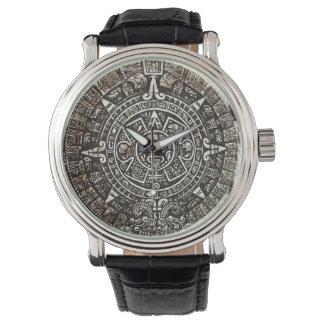 Aztec Calendar Wrist Watch
