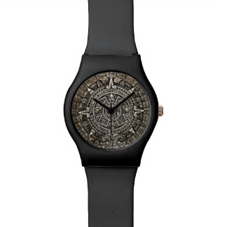 Aztec Calendar Wristwatches