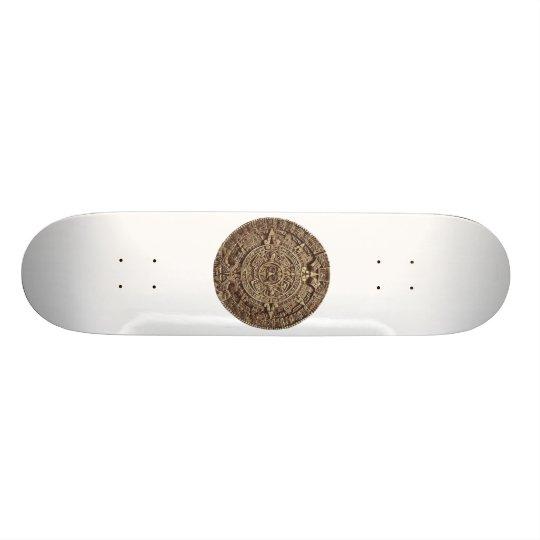 Aztec Calender Skateboard