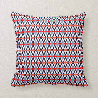 Aztec Chevron #10 @ VictoriaShaylee Throw Pillow