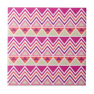 Aztec Chevron #12 @ VictoriaShaylee Ceramic Tile