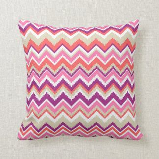 Aztec Chevron #1 @ VictoriaShaylee Throw Pillow