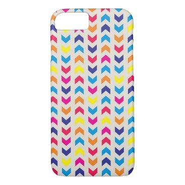 Aztec Themed Aztec Chevron colorful iPhone 8/7 Case