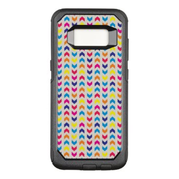 Aztec Themed Aztec Chevron colorful OtterBox Commuter Samsung Galaxy S8 Case