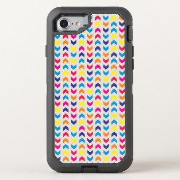 Aztec Themed Aztec Chevron colorful OtterBox Defender iPhone 8/7 Case