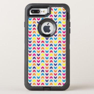 Aztec Themed Aztec Chevron colorful OtterBox Defender iPhone 8 Plus/7 Plus Case